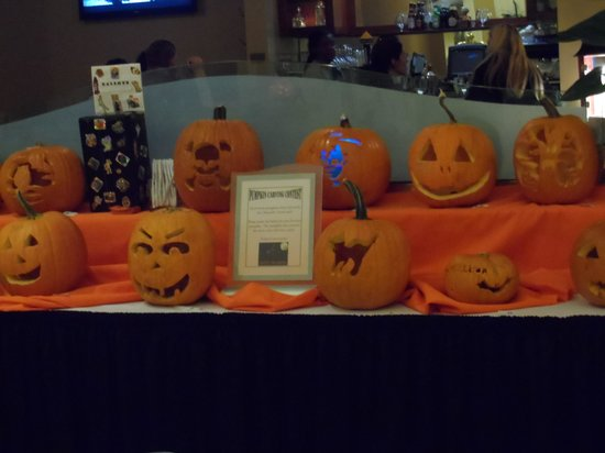 Chancellor Hotel on Union Square: Staff Pumpkin carving contest