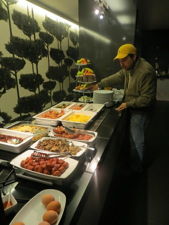 Bohem Art Hotel: Platos calientes