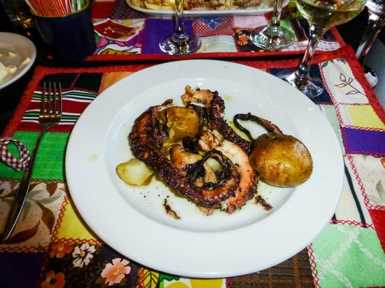 Canto do Paco : The most delicious octopus I've ever tasted