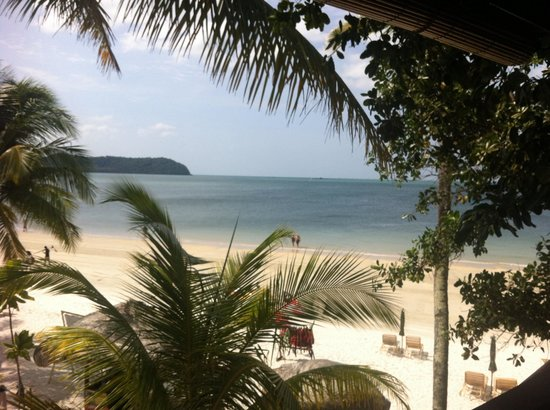 Malibest Resort: View of beach from treetop balcony