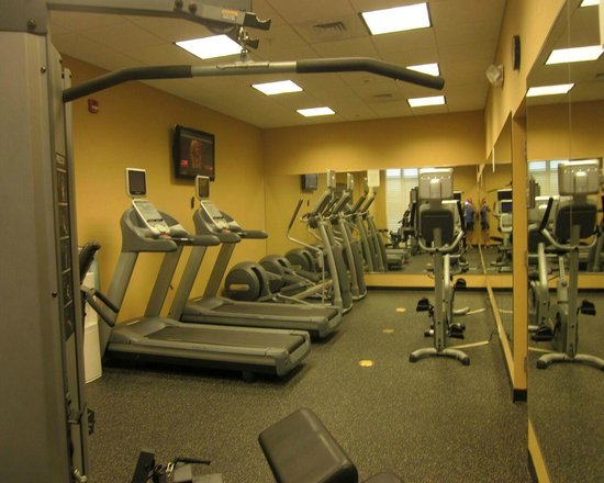 Holiday Inn Winter Haven: exercise room