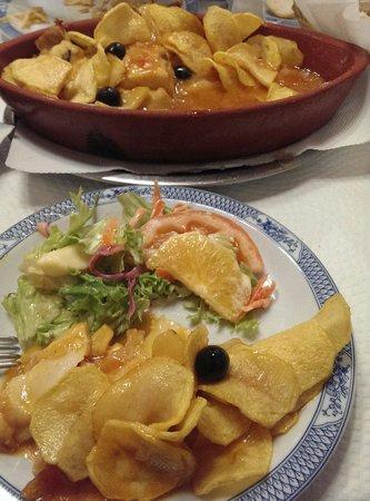 Restaurante Regional de Sintra: codfish regional style