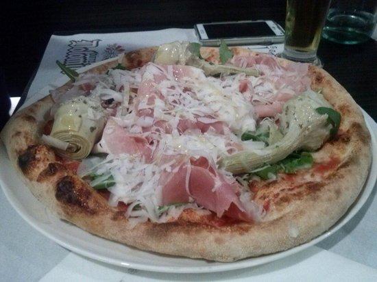 Pizzeria da Albert : Lella's pizza - Perché anche l'occhio vuole la sua parte :D Buonissima