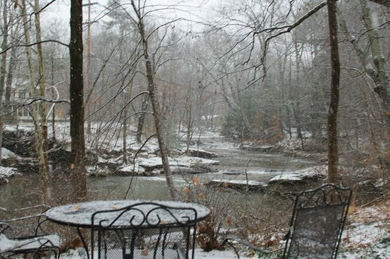 The Woodstock Inn on the Millstream: a view from the property