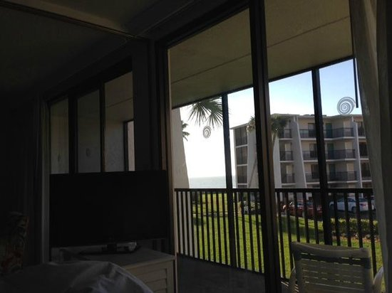 Sundial Beach Resort & Spa: Ocean view from balcony and bed! D205, Island Residence