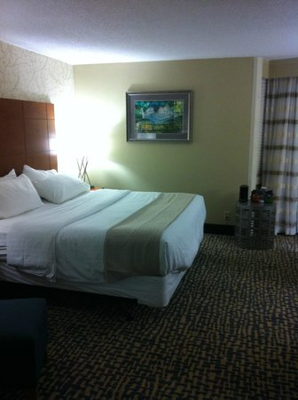 Holiday Inn Raleigh Downtown: Single bed room in Octagon Design