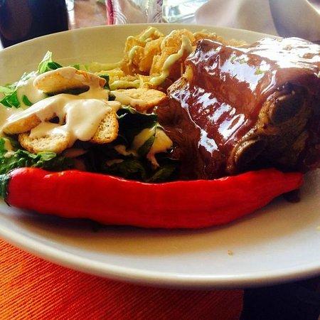 The Clover La Romanera : Costillas BBQ