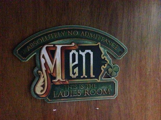 McGuire's Irish Pub: Be Careful when you use the bathroom.