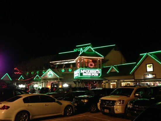 McGuire's Irish Pub: Outside