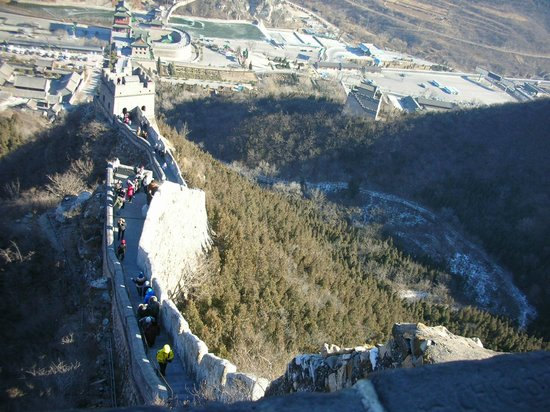 Mutianyu (Abschnitt der Chinesischen Mauer): Вид со стены