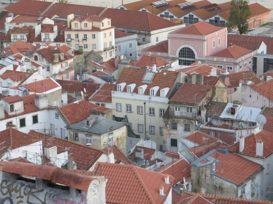 Rooftop view from Alfama