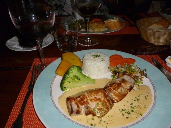 Le Mahogany : Main meal - Lamb