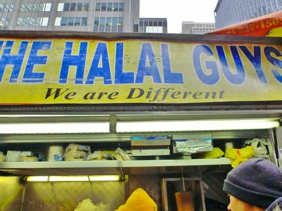 The Halal Guys: must try