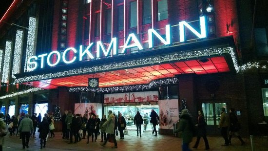 Stockmann's Department Store : Outside the department store