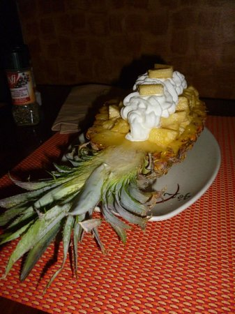 Le Mahogany : Pineapple Dessert