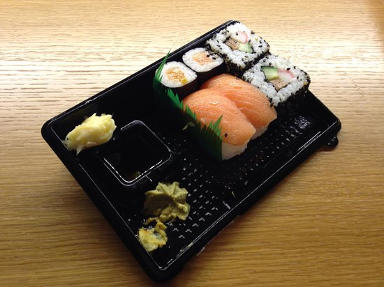Stockmann's Department Store: Sushi from Stockmann