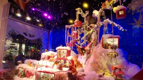 Stockmann's Department Store: Stockmann's Window display