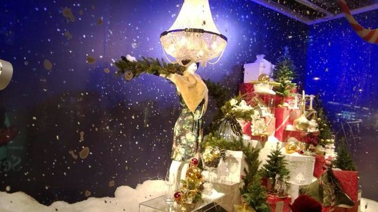 Stockmann's Department Store : Stockmann's window display