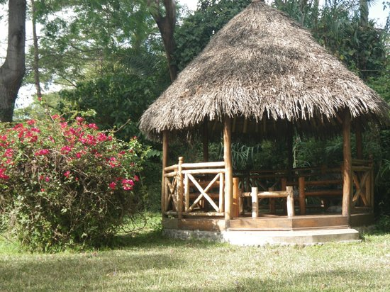 Mount Meru Game Lodge & Sanctuary : Gazebo on the grounds