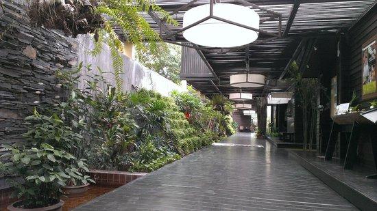Peace Resort: Hotel Entrance
