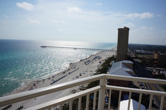 View of Pier from corner unit 1511