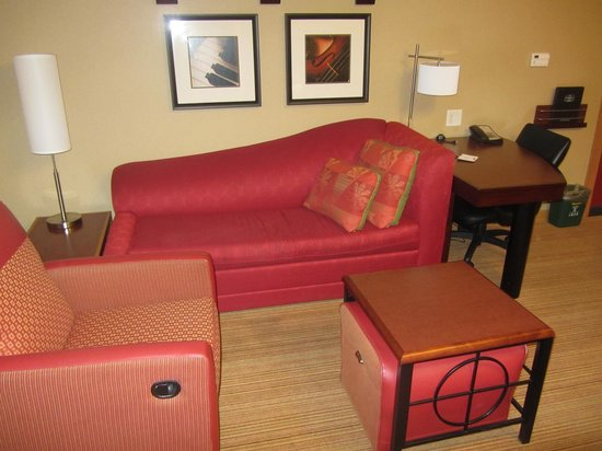 Residence Inn Baltimore Hunt Valley: King Suite