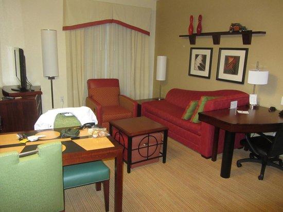 Residence Inn Baltimore Hunt Valley: King Suite