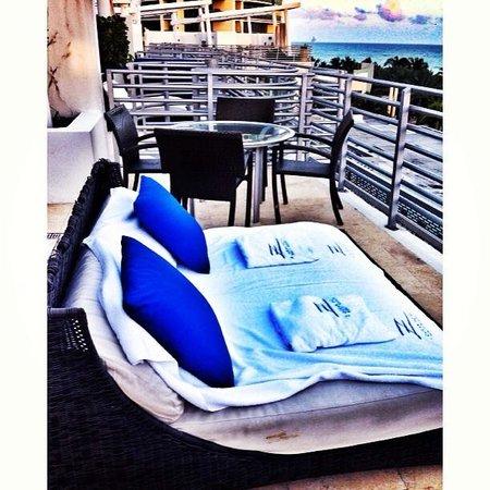 Z Ocean Hotel South Beach : Rooftop terrace