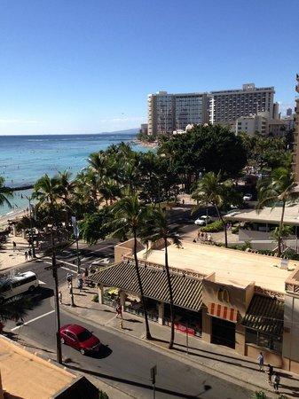 Pacific Beach Hotel : Balcony
