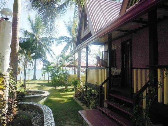 Villa Leonora Beach Resort: наш номер