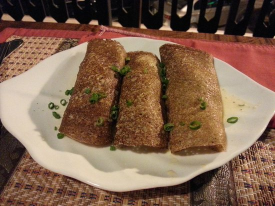 Xang Khoo Restaurant: buckwheat crepes