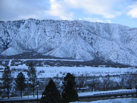 Hanging Lake Inn: View from room 1