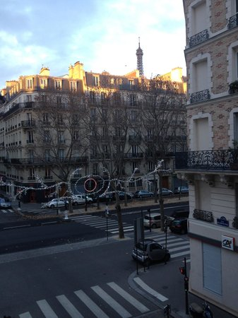 Hotel Relais Bosquet Paris: View from our room-Room 24
