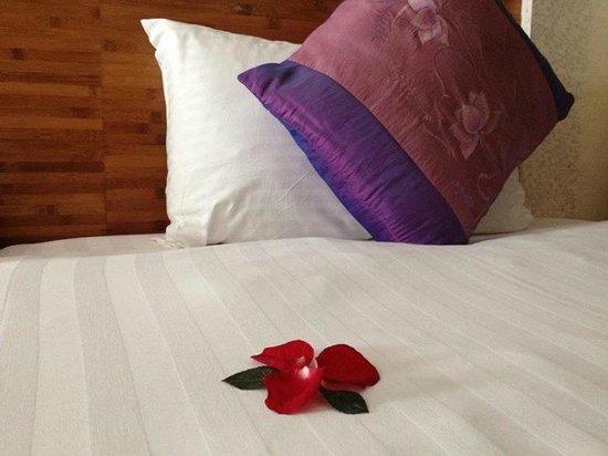 B&B Hanoi Hotel: rose petals!!!