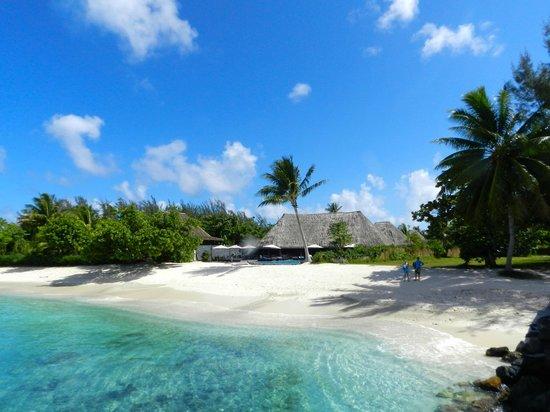 Maitai Lapita Village Huahine: plage