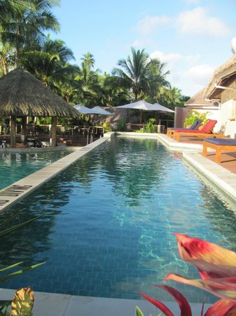 Outrigger Fiji Beach Resort : Lap pool at the adult only pool