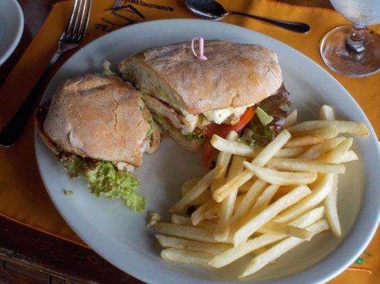 Volcano Lodge & Springs: Chicken Panini Sandwich