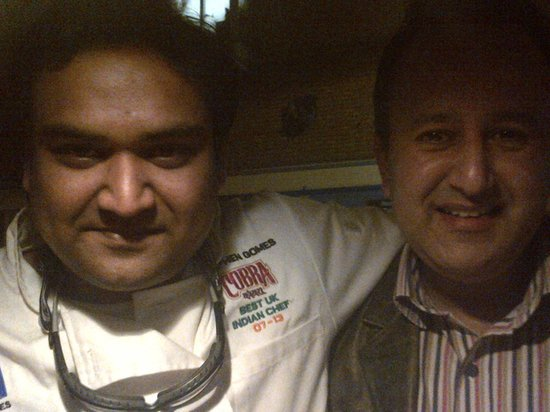 Moksh: Me and The Chef, Stephen Gomes