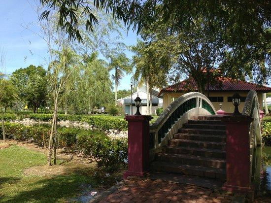 Miri City Fan: garden