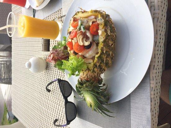 Natai Beach Resort & Spa, Phang-nga : Andaman salad