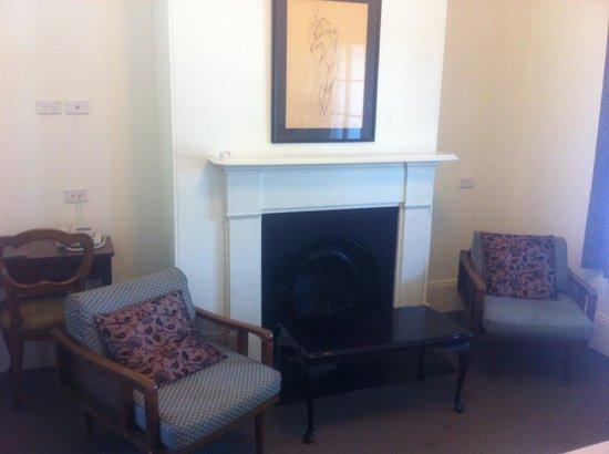 Hughenden Boutique Hotel : apartment sitting room