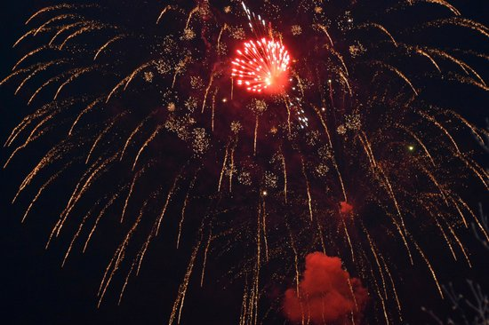 Parkhotel Seefeld: New Years Eve fireworks