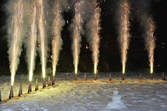 Parkhotel Seefeld : New Years Eve fireworks