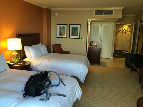 Room With Double Beds Picture Of Hilton Hawaiian Village