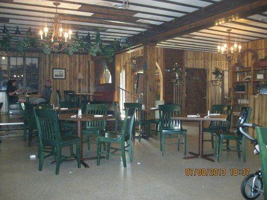 O'Sole Mio Trattoria Italiana: seating