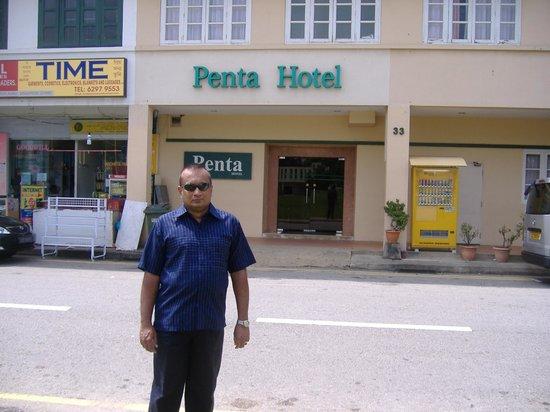 Opposite Penta Hotel, 33 Birch Road, Singapore.