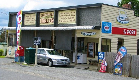 Ellendale General Store, Great Coffee and wonderful foods along with lots of local crafts