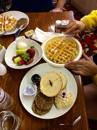 Dauphine Orleans Hotel : A few breakfast options