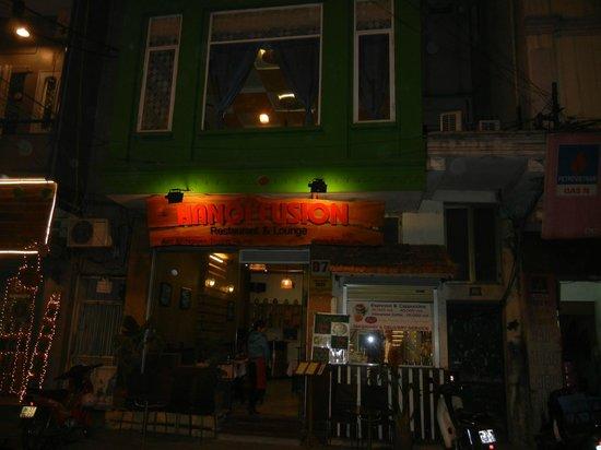Hanoi Fusion: Restaurant Exterior with Barista