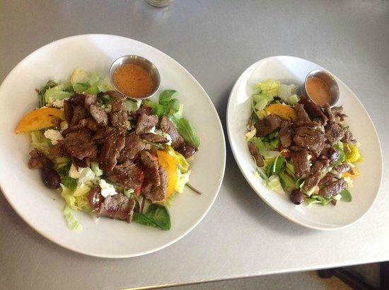 Taste of Troy: GREEK SALAD WITH GYRO